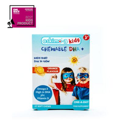 Eskimo-3 Kids Chewable DHA+